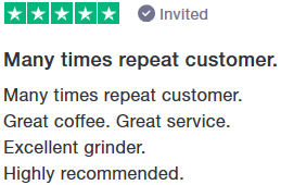 Image displaying domestic grinder comment.